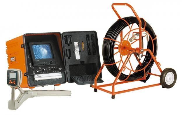 Drain inspection camera used by our Hayward CA Plumbers